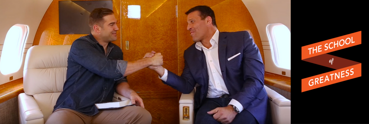 Tony Robbins & The School of Greatness
